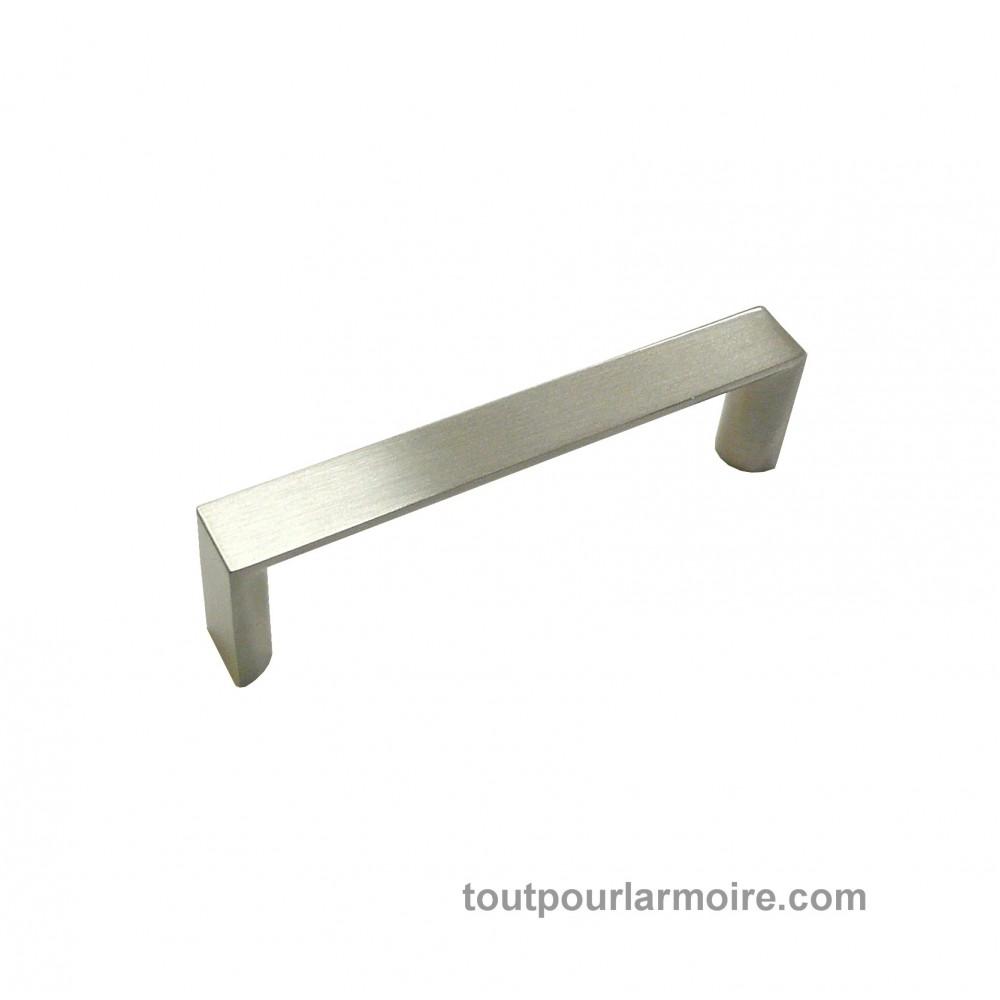 Nickel brossé Bracelet Cuisine /& Chambre à Coucher Armoire Porte Nœud Poignée 190 mm