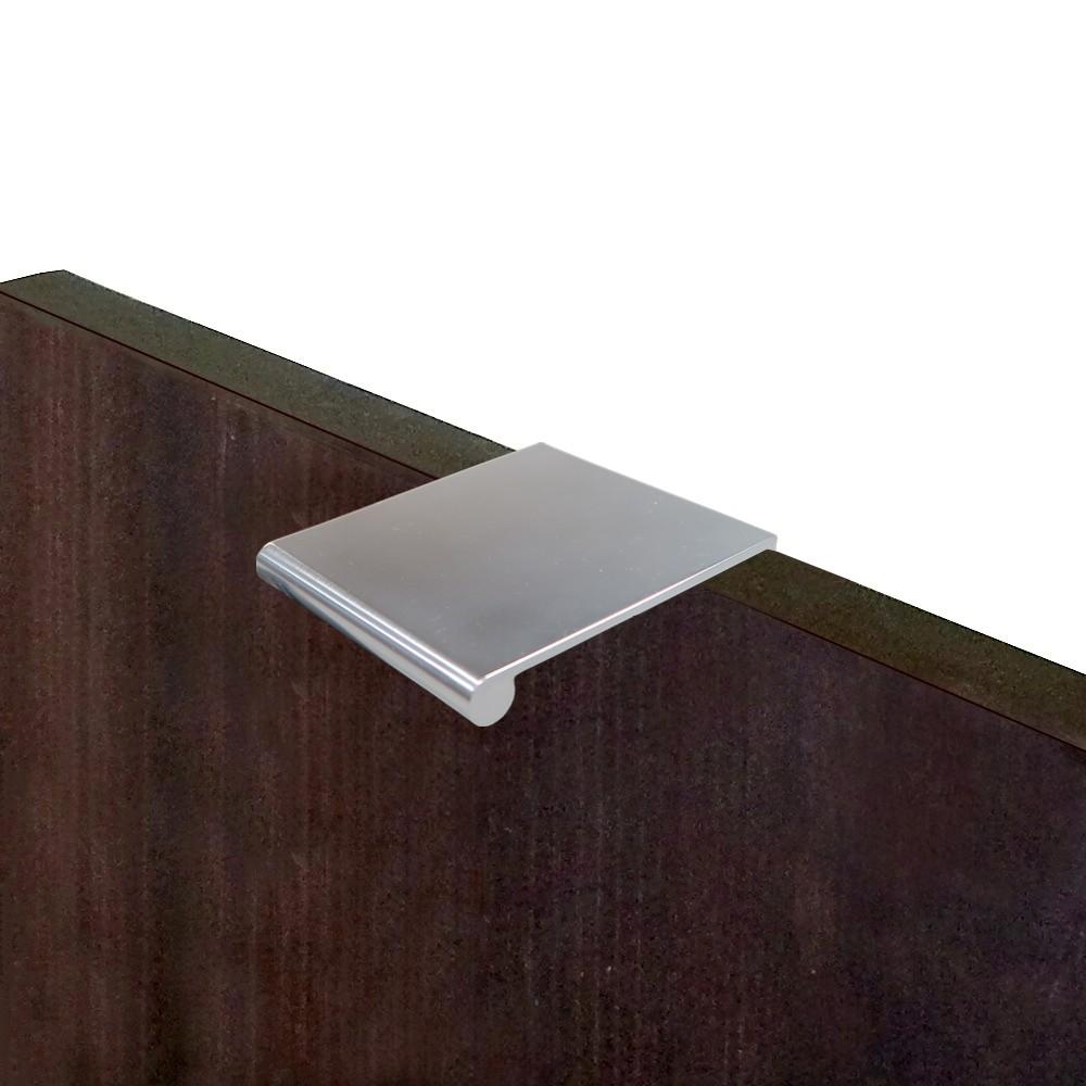 Poignee a rebord aluminium anodize - Poignee de porte invisible ...
