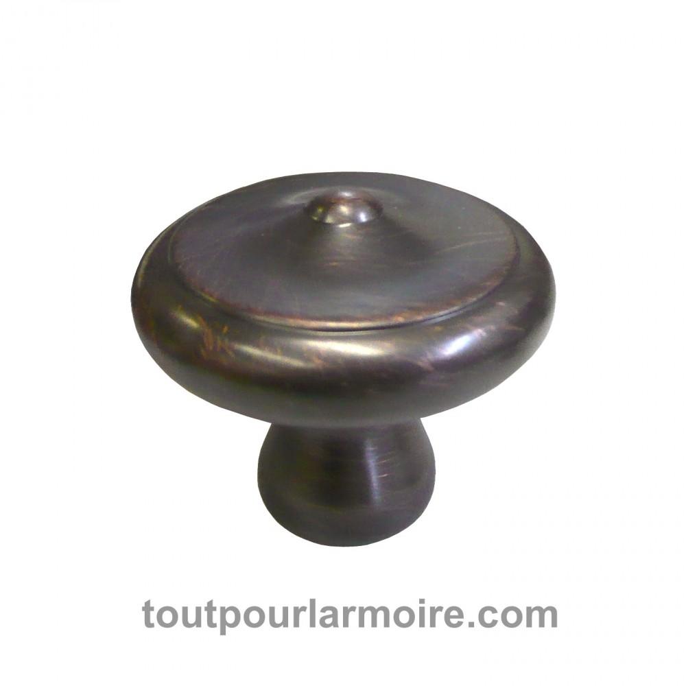 bouton armoire bronze huile brosse 12. Black Bedroom Furniture Sets. Home Design Ideas
