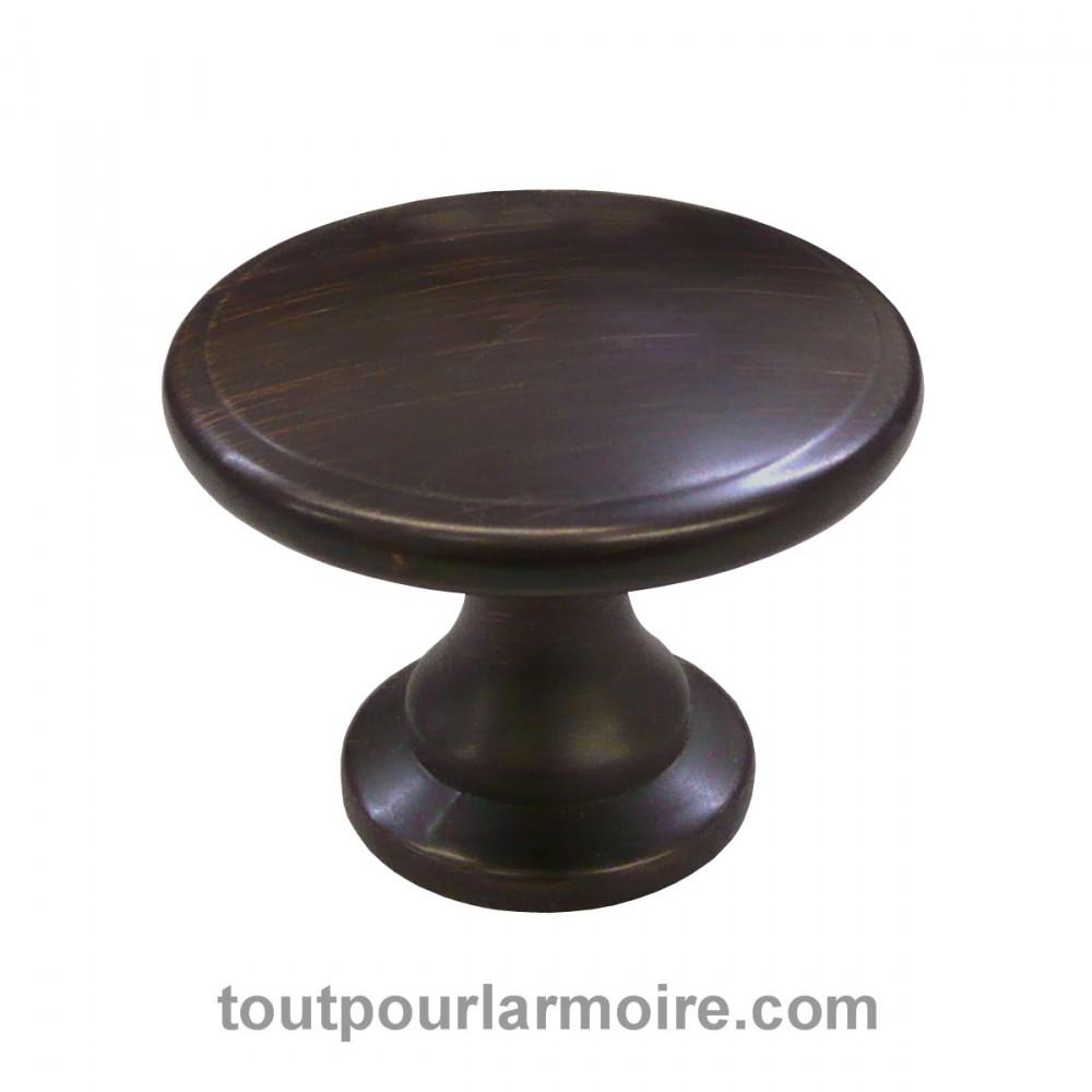 bouton armoire bronze huile brosse 15. Black Bedroom Furniture Sets. Home Design Ideas