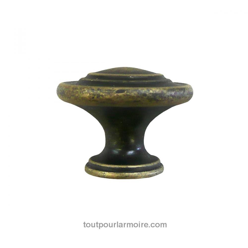 bouton armoire laiton antique 5. Black Bedroom Furniture Sets. Home Design Ideas