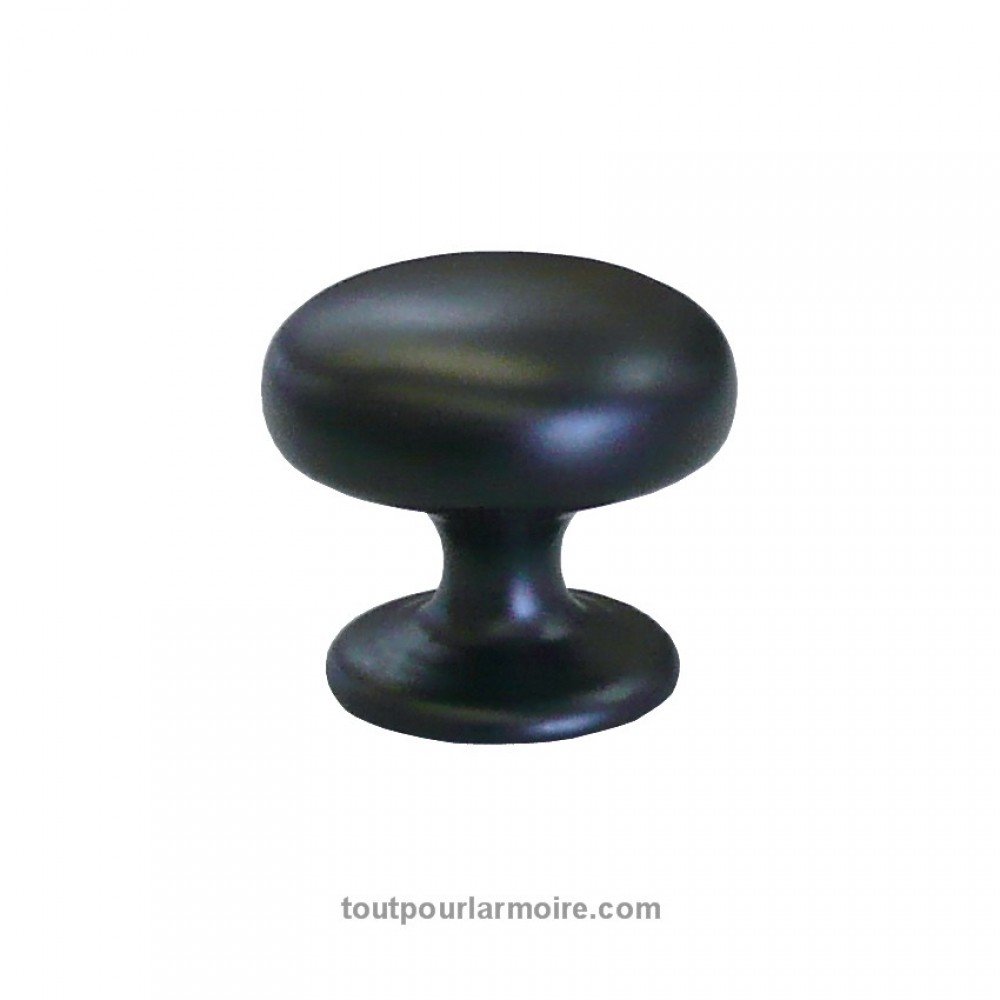 bouton armoire noir satine 10. Black Bedroom Furniture Sets. Home Design Ideas