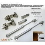 Kit de Cylindres 120 Newton pour Fermeture Douce