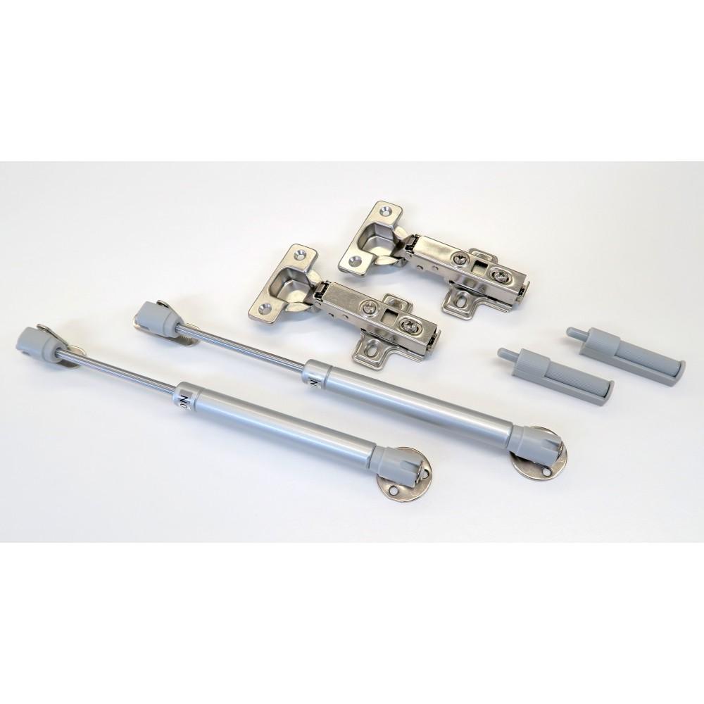 Kit conomique cylindre hydraulique portes relevables fermeture douce amortisseur relevante 180 - Amortisseur fermeture porte ...