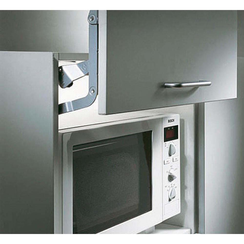 Mecanisme ouverture verticale fermeture douce - Porte relevable micro onde ...