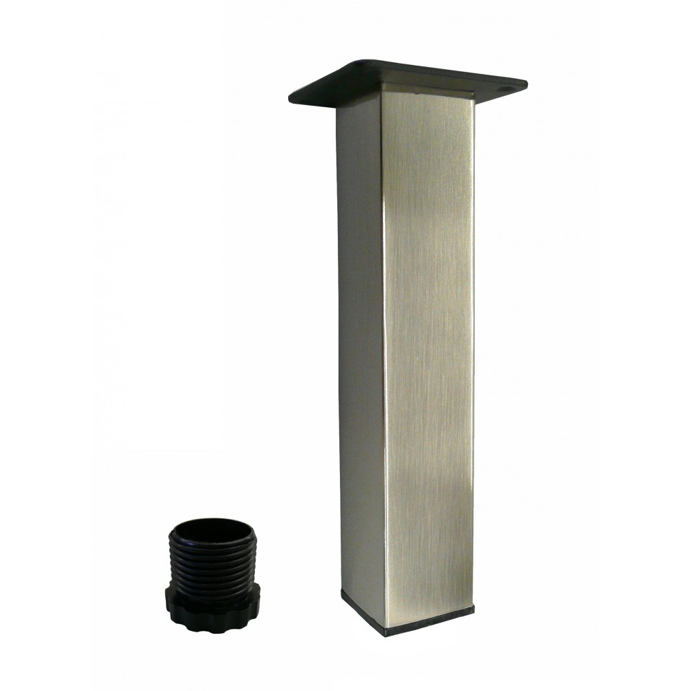 patte carree nickel brosse 8. Black Bedroom Furniture Sets. Home Design Ideas