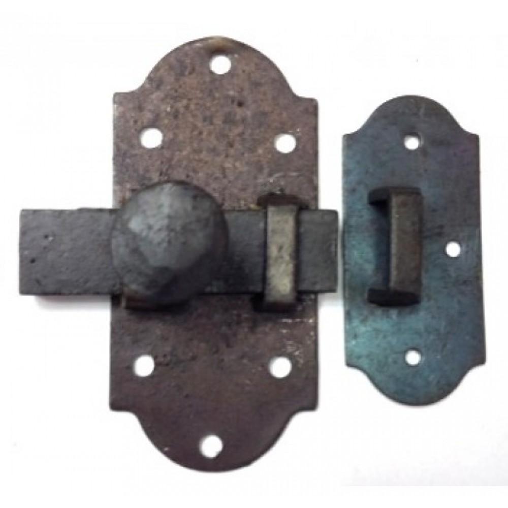 loquet surface barrure barrer antique fer forg. Black Bedroom Furniture Sets. Home Design Ideas