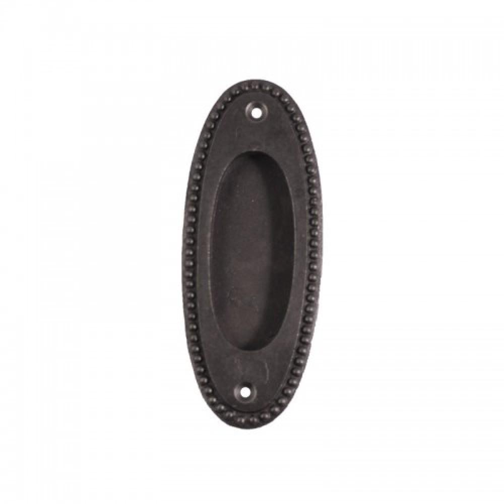 poign e meuble antique encastr e fonte ovale porte. Black Bedroom Furniture Sets. Home Design Ideas