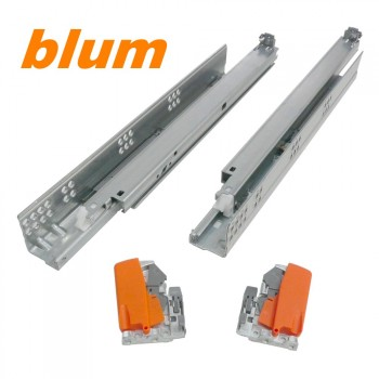 "Coulisses Blum Tandem 16"" *Attaches Incluses*"