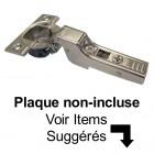 Penture Blum Demi-Recouvrement à Fermeture Douce Clip Top Sans Goujons (À Visser)