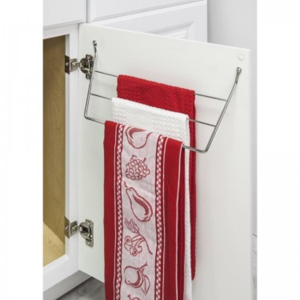 support serviette porte rangement cuisine armoire chrome. Black Bedroom Furniture Sets. Home Design Ideas